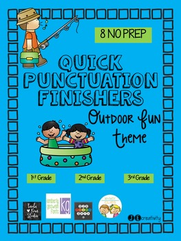 Quick Punctuation Finishers-Outdoor Fun Theme