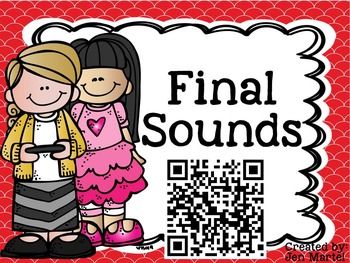 Quick QR Codes: Identifying Final Sounds