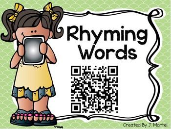 Quick QR Codes: Identifying Rhyming Words