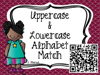 Quick QR Codes: Matching Lowercase and Uppercase Letters