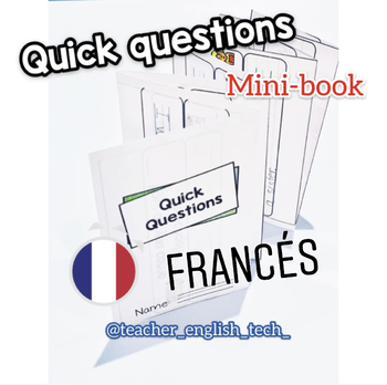 Quick Questions Mini-Book - FRANCES