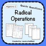 Radicals Activity: Fix Common Mistakes!
