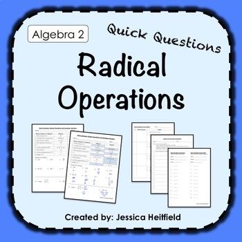 Quick Questions: Radicals