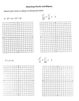 Algebra: Quick Quiz - Graphing Circles & Ellipses