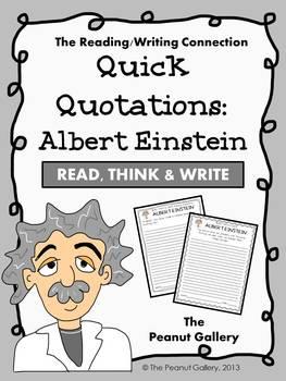 Quick Quotations: Albert Einstein