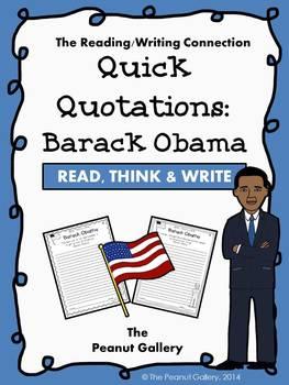 Quick Quotations: Barack Obama