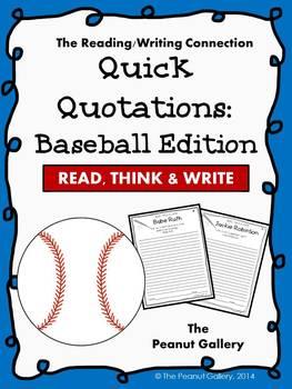 Quick Quotations: Baseball Edition