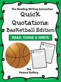 Quick Quotations: Basketball Edition