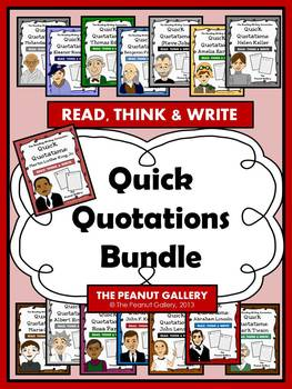 Quick Quotations Bundle (15 Sets in One!)