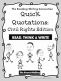 Quick Quotations: Civil Rights Edition