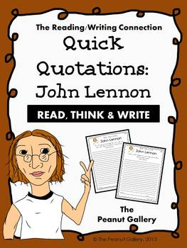 Quick Quotations: John Lennon