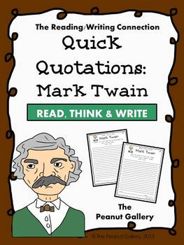 Quick Quotations: Mark Twain