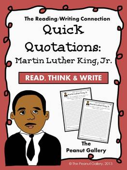 Quick Quotations: Martin Luther King, Jr.