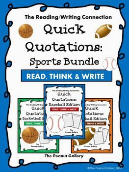 Quick Quotations: Sports Bundle