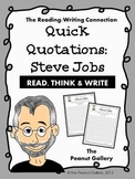 Quick Quotations: Steve Jobs