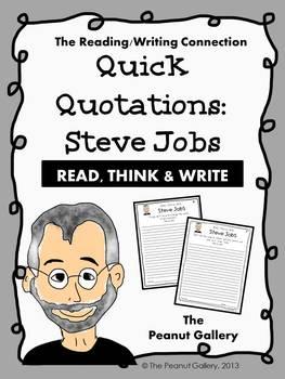 Quick Quotations: Steve Jobs