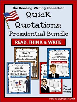 Quick Quotations: The Presidential Bundle