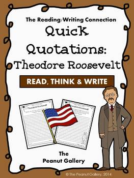 Quick Quotations: Theodore Roosevelt