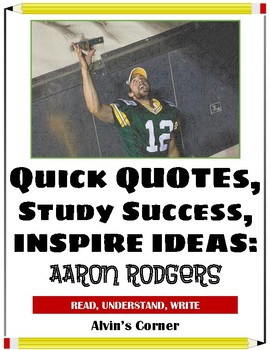 Quick Quotes, Inspire Ideas - Aaron Rodgers: American Football Player (NFL)