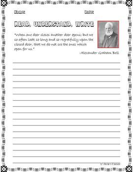 Quick Quotes, Inspire Ideas - Alexander Graham Bell: American Inventor