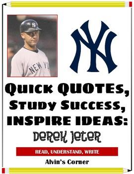 Quick Quotes, Inspire Ideas - Derek Jeter- Baseball Player (MLB)