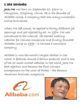 Quick Quotes, Inspire Ideas - Jack Ma: Founder of Alibaba Group