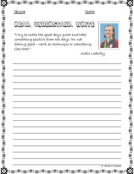 Quick Quotes, Inspire Ideas - Katie Ledecky American Swimmer Olympian