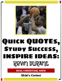Quick Quotes, Inspire Ideas - Kevin Durant: Basketball Pla