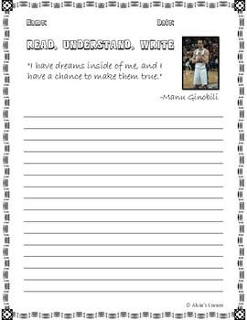 Quick Quotes, Inspire Ideas - Manu Ginobili (Argentinian Basketball Player)
