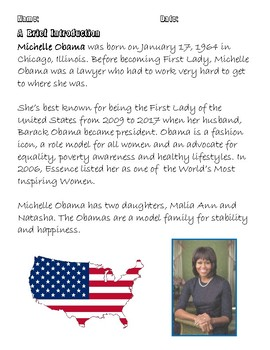 Quick Quotes, Inspire Ideas - Michelle Obama: American First Lady
