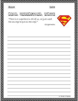 Quick Quotes, Inspire Ideas - Superhero Bundle (Marvel and DC)