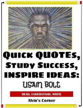 Quick Quotes, Inspire Ideas - Usain Bolt: Olympic Sprinter (Runner)