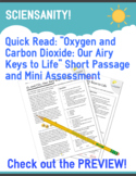 """Quick Read: """"Oxygen and Carbon Dioxide: Our Airy Keys to L"""