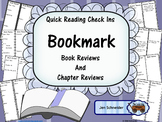 Quick Reading Check Ins: Bookmark Book and Chapter Reviews