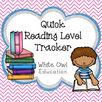Reading Running Record Tracker