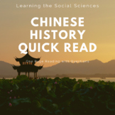Quick Reads - China and the West - 1 Page Reading with Questions