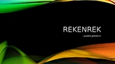 Quick Recall: Rekenrek Values