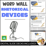 Collaborative WORD WALL | RHETORICAL TERMS Activity