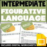 Collaborative WORD WALL | INTERMEDIATE Literary Terms