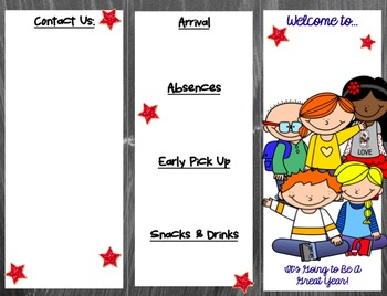 Quick Reference Guide for Parents--Back to School Brochure