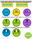 You Will Need Today... Labels for Classroom Management