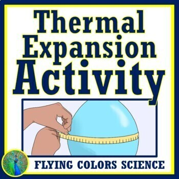 Hands-On Thermal Energy Expansion Activity, Motion of Particles NGSS MS-PS1-4