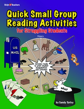 Quick Small Group Reading Activities for Struggling Students