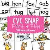 cvc Words Activity Game