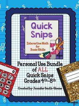 Quick Snips Bundle with Editable Template
