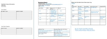 Quick Special Education Forms and Documents-10 Forms  -most you can EDIT!