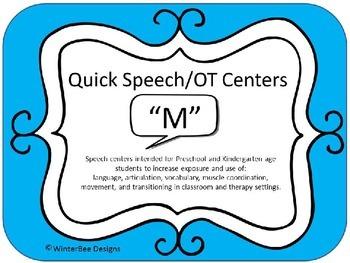 Quick Speech/OT Centers (RtI, Phonics, Articulation, Thera