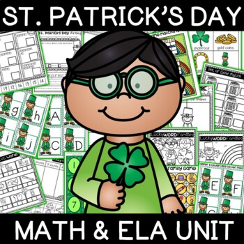 Quick St. Patrick's Day Literacy and Math Mini Unit
