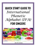 Quick Start Guide to International Phonetic Alphabet (IPA)