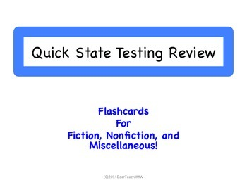 Quick State Testing Review